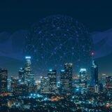 経済大国をデジタルでつなぐイメージの画像