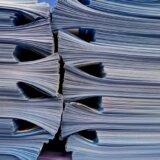 紙資料の山
